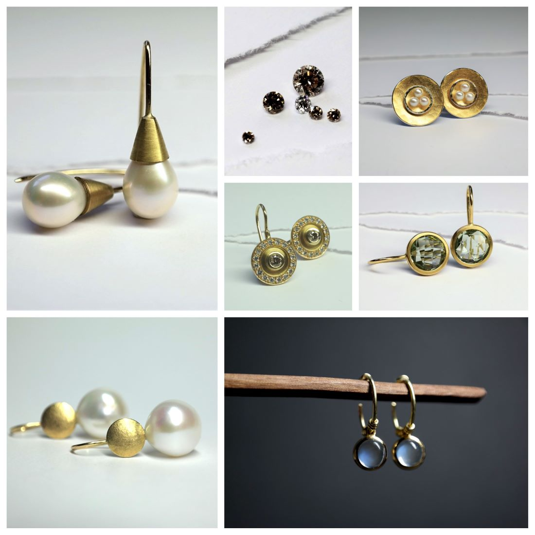 ohrringe-gold-silber-perle-brillant-handgemacht