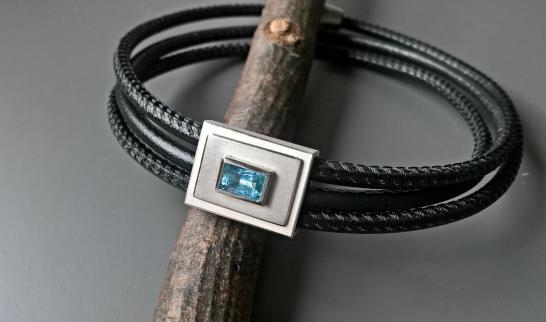 Aqualederarmband Andi