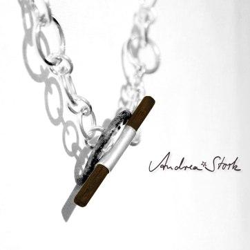 Silberkette-mit-Holz