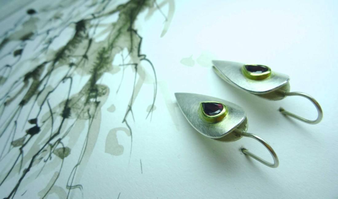 Ohrringe-mit-Zeichnung